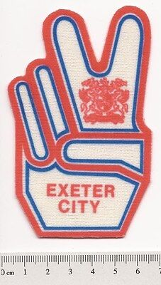 EXETER CITY 1970s RETRO STICK or SEW-ON PATCH