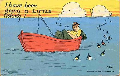 (kgi) Drinking Comic: I Have Been Doing a Little Fishin