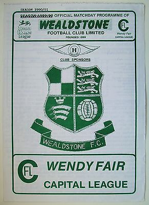 Wealdstone v Brentford Reserves 90/91