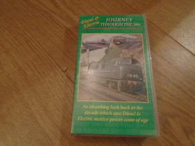 Vhs Video Transport Video Publishing  Diesel Electric Journey Through The 60's