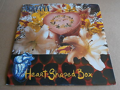 Nirvana Heart Shaped Box Marigold Gfs54 Kurt Cobain Foo Fighters Dave Grohl 7""