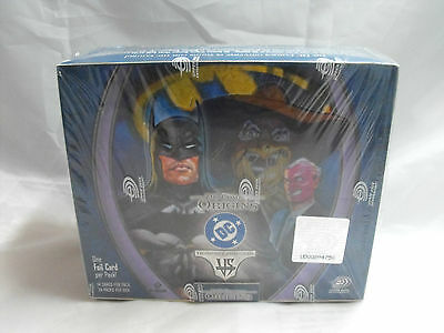 Vs System Dc Origins Complete Sealed Box Of 24 Packs