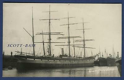 Sailing Ship Four Masted Barque Dumfries-Shire Russell'S Yard Law Ww1 Loss U-24