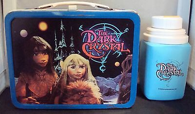"Vintage 1982 Jim Henson's ""The Dark Crystal"" By King Seeley W/ Thermos! NICE!"