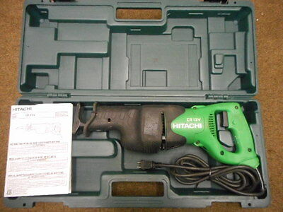 Hitachi CR13V Reciprocating Saw Sawzall with Case