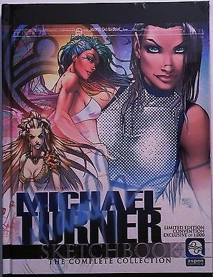 Michael Turner Sketchbook The Complete Collection SDCC Exclusive Ltd. Ed. 1,000
