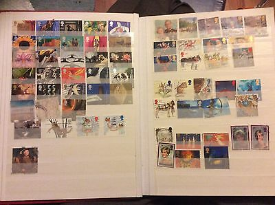 A Collection Of Gb Stamps 1996-1999-2000- Inc High Values