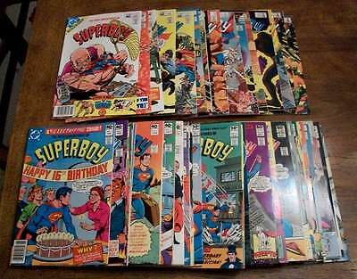 L2640: The New Adventures of Superboy #1-54, NM-M Cond