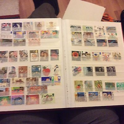 A Collection Of Gb Stamps 1980s Inc High Values