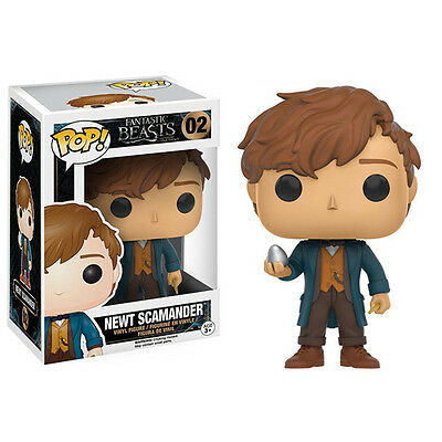 Fantastic Beasts Newt Scamander With Egg POP! Vinyl Figure [Funko]