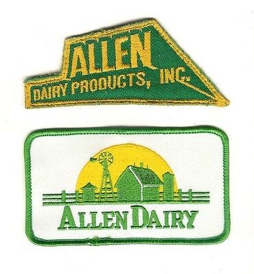 Allen Dairy Products, Inc. Patch 2 different