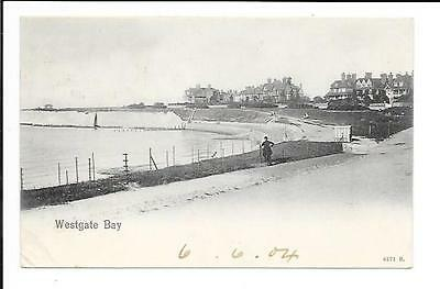 Old postcard, Durham: 'Westgate Bay'. Posted 1904. Peacock.