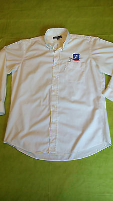 Rare 2 Chemises Faconnable D'occasion Used Shirt Peugeot Sport Taille L Size