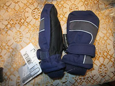 The Children's Place Boys Winter Gloves, size 6M- 12M 6-12 months NEW navy