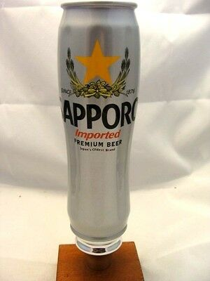 """Never Used SAPPORO Imported Premium beer tap handle 9"""""""