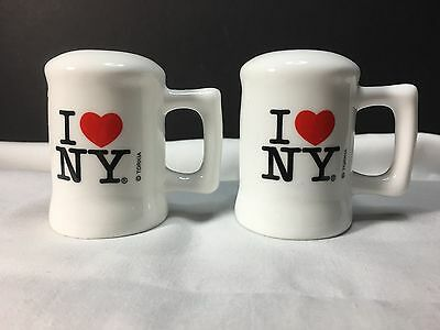 Salt And Pepper Shaker Set I I Love New York Nice And Shinny By Torkia Sure To I