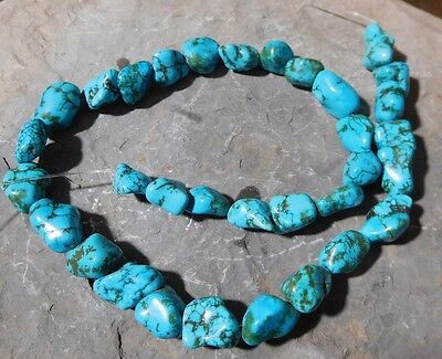 """Turquoise-16"""" String-33 Bead String"""
