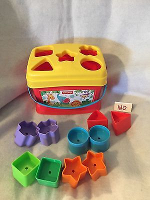 Shape Sorter Toy Baby Fisher Price Kids Learning Toddler Developmental First Toy