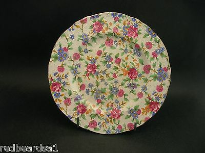 China Replacement Royal Winton Old Cottage Chintz Vintage Tea Plate 17cms VGC