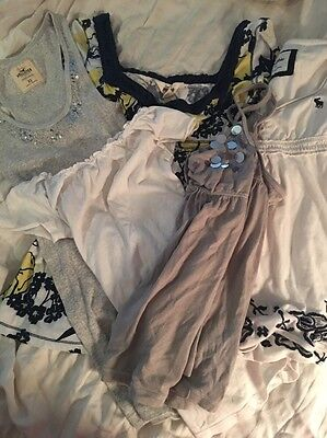 Lot Of 5  Abercrombie Hollister Shirts
