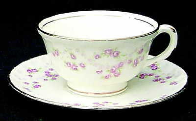 Pope Gosser FLORENCE (SCALLOPED EDGE) Cup & Saucer S522589G3