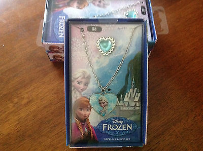 Disney Frozen Childrens Fashion Jewellery Rings,Earrings and Neckalces
