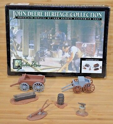JOHN DEERE Heritage Collection BLACKSMITH SHOP Yard Accessory Kit #1