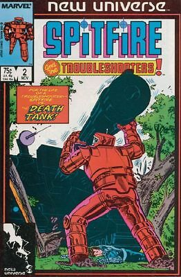 Spitfire and the Troubleshooters #2 VG 1986 Marvel Comic Book