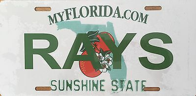 Tampa Bay Rays License Plate (LP-080-287)