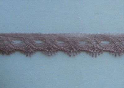 CRAFT-KNITTING EYELET-15mm Strong Mocha 1 Sided Eyelet(mtr variations available)