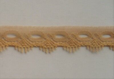 CRAFT-KNITTING EYELET-15mm Melon 1 Sided Eyelet(mtr variations available)