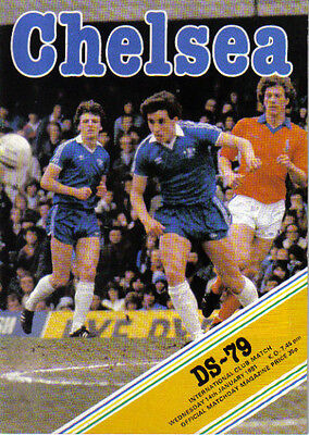 1980/81  CHELSEA  FC  v  DS-79  (FRIENDLY FIXTURE)