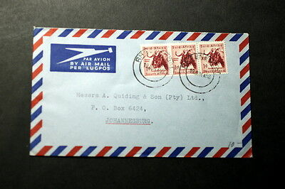 South Africa 1958 cover    #A-095
