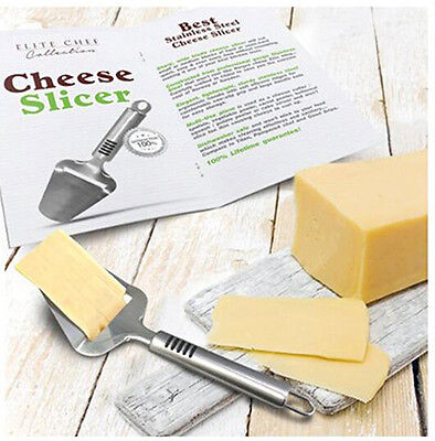 Stainless Steel Cheese Cake Plane Slicer Butter Grater Cutter Kitchen Tools