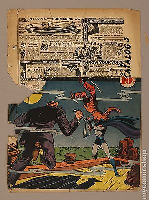 Detective Comics (1937 1st Series) 37 Front and Back Cover Only