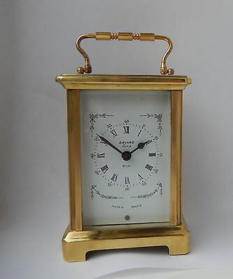 Superb Duverdrey & Bouquel 9 Jewel French Carriage Clock Working  2596