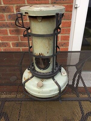 aladdin paraffin heater Vintage Antique Refurbished And Fully Working