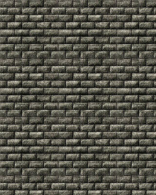 6 SHEETS EMBOSSED BUMPY BRICK stone wall 21x29cm SCALE G 1/24 CODE GJ8K4r