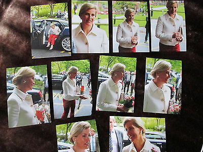 Sophie Countess of Wessex October 2016  PHOTOGRAPHS TAKEN BY SELLER