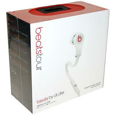Genuine Beats by Dr. Dre Tour BeatsTour In-Ear Earphones - White NEW BOXED