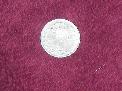 1920 silver threepence, George V, good collectable grade.