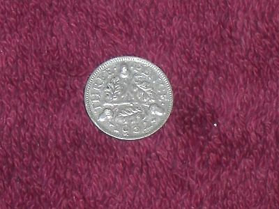 1932 silver threepence, George V, good collectable grade.
