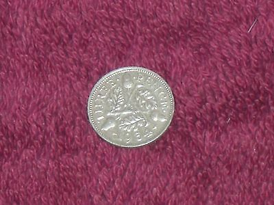 1934 silver threepence, George V, good collectable grade.