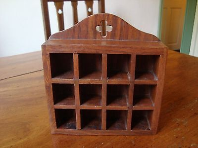 Past Times  WOODEN THIMBLE /whimsy DISPLAY RACK .