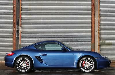 Porsche Cayman S 3.4 6 Speed Manual 2006 56 Cobalt Blue
