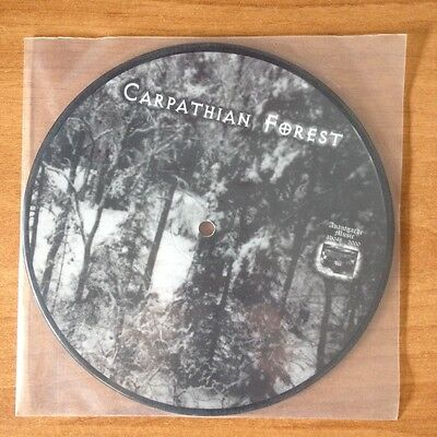 """Carpathian Forest – Ghoul / He's Turning Blue Vinyl, 7"""", L. Edition, Pic Disc"""