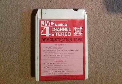 QUAD 8 TRACK cartridge - JVC 4 Channel Stereo Demonstration Tape