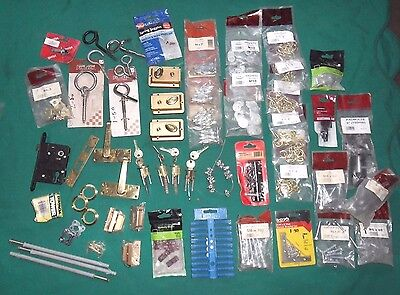 hardware tools  mixed job lot assorted locks fitting over 46-in-total new & used