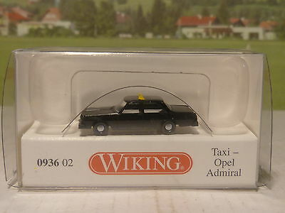 Wiking 093602 Taxi Opel Admiral 1:160       S/98/256