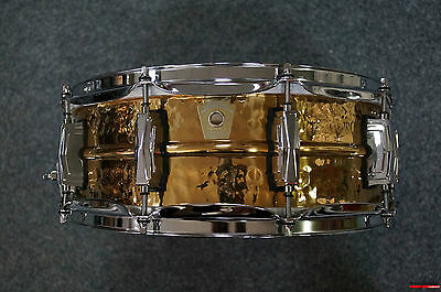 """Ludwig USA Hammered Bronze Snaredrum 14x5""""   -   Modell:  LB550K"""